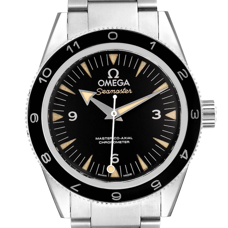 Omega Seamaster 300 Spectre Limited Edition Watch 233.32.41.21.01.001 Unworn SwissWatchExpo