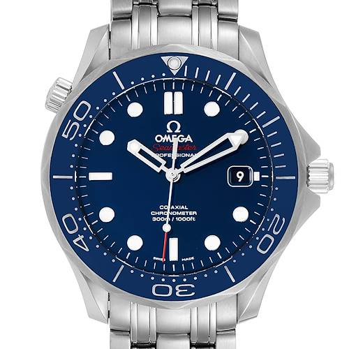 Photo of Omega Seamaster Diver Co-Axial Mens Watch 212.30.41.20.03.001 Card