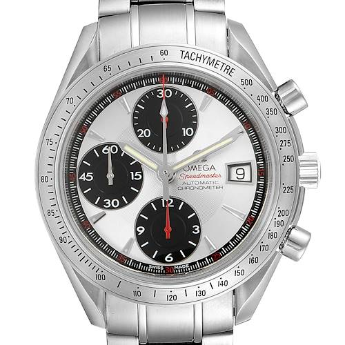 Photo of Omega Speedmaster Date Panda Dial Chronograph Mens Watch 3211.31.00