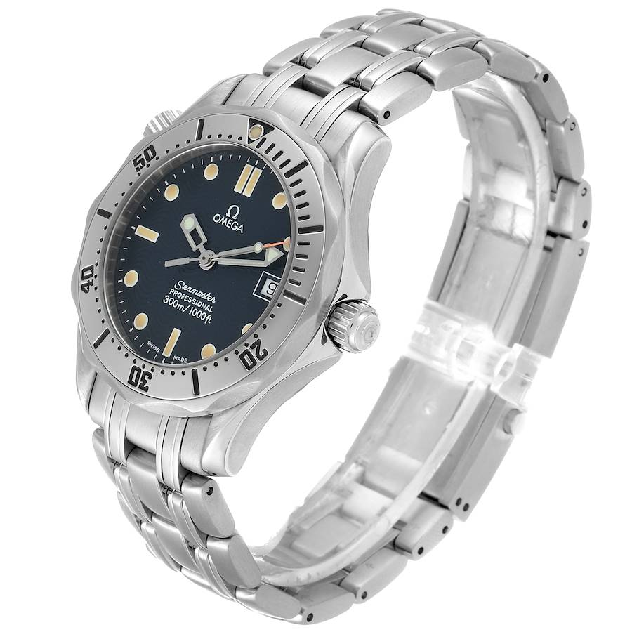 Omega Seamaster 300m Midsize 36mm Steel Mens Watch 2562.80.00 SwissWatchExpo