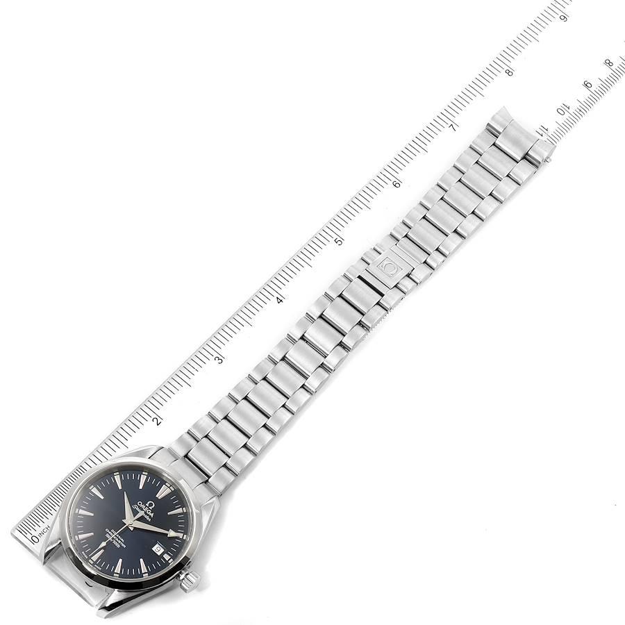 Omega Seamaster Aqua Terra Blue Dial Steel Mens Watch 2503.80.00 SwissWatchExpo