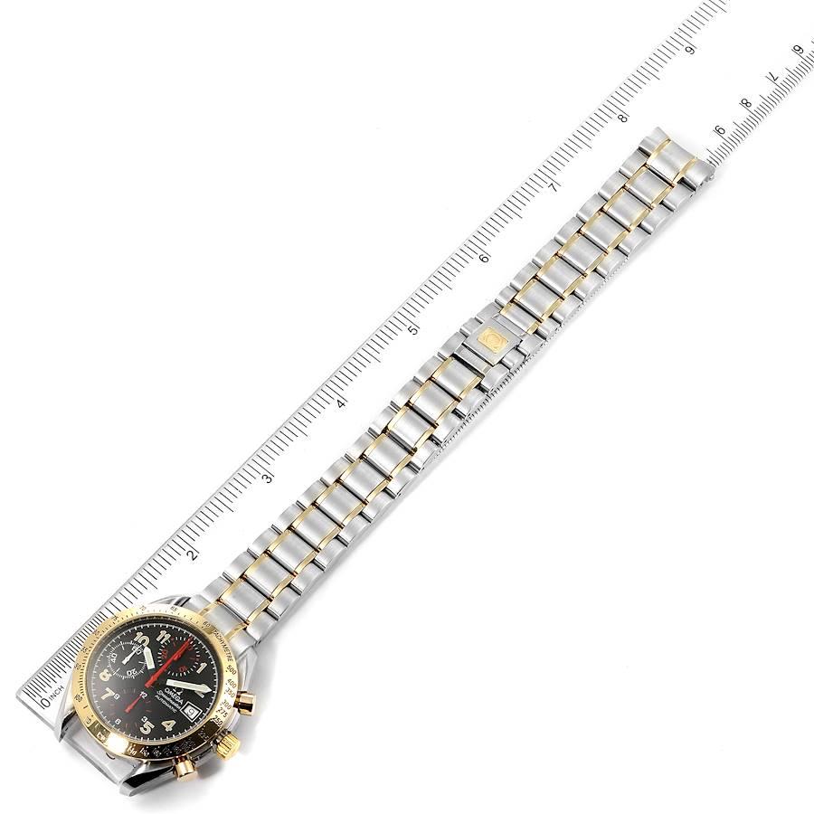 Omega Speedmaster Mark 40 Steel Yellow Gold Automatic Watch 3313.53.00 SwissWatchExpo