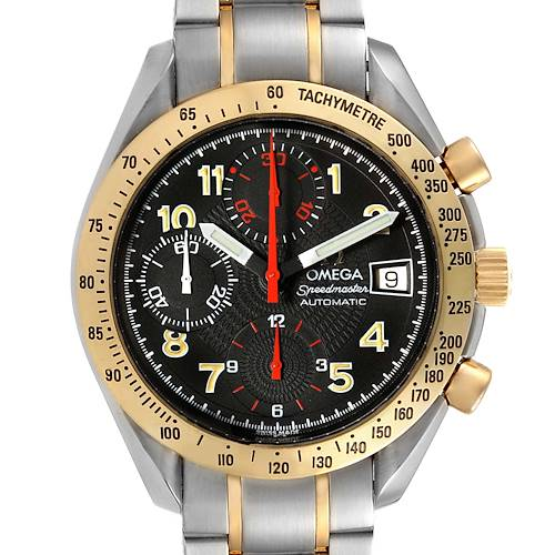 Photo of Omega Speedmaster Mark 40 Steel Yellow Gold Automatic Watch 3313.53.00