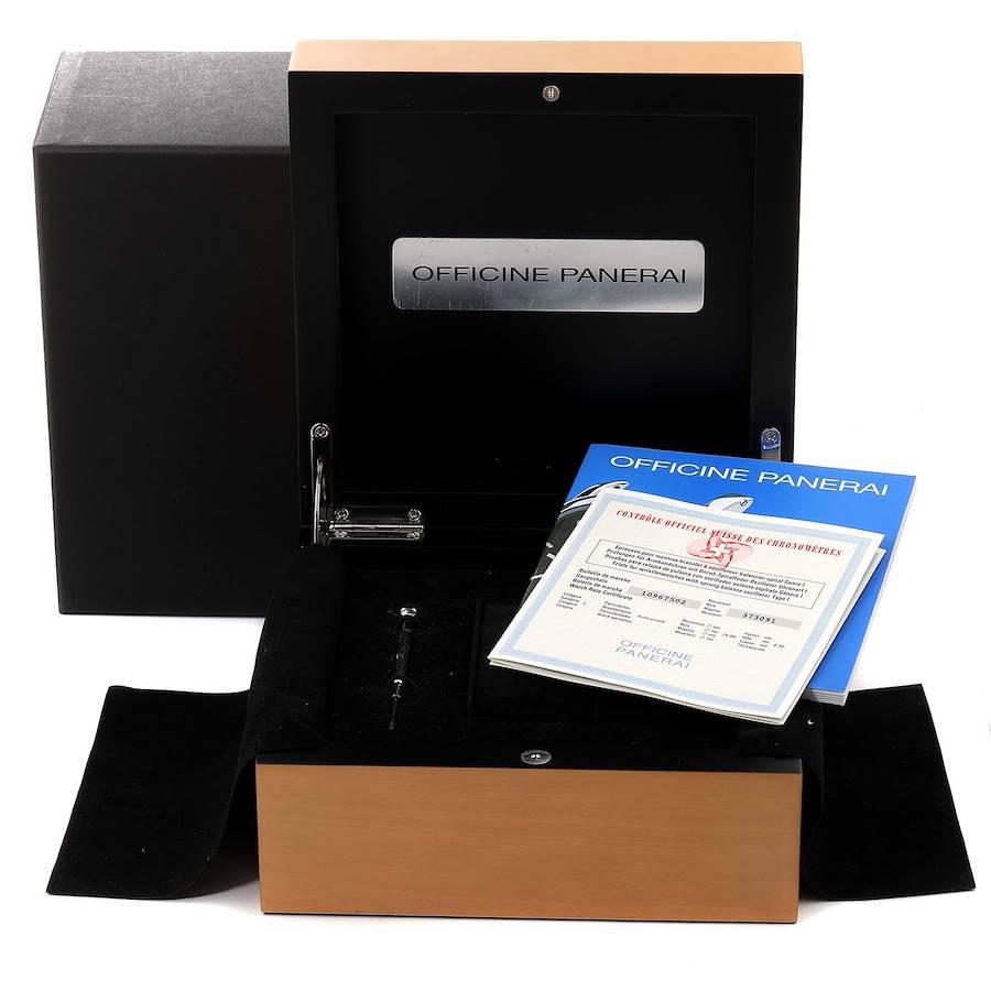 Panerai Luminor Marina 45mm Titanium Mens Watch PAM00061 Box Papers SwissWatchExpo