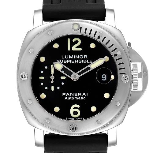 Photo of Panerai Luminor Submersible 44mm Mens Watch PAM024 PAM00024 Box Papers