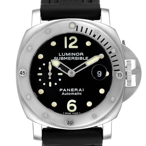 Panerai Luminor Submersible 44mm Mens Watch PAM024 PAM00024 Box Papers