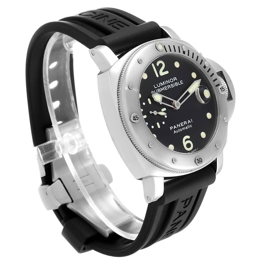 Panerai Luminor Submersible 44mm Mens Watch PAM024 PAM00024 Box Papers SwissWatchExpo