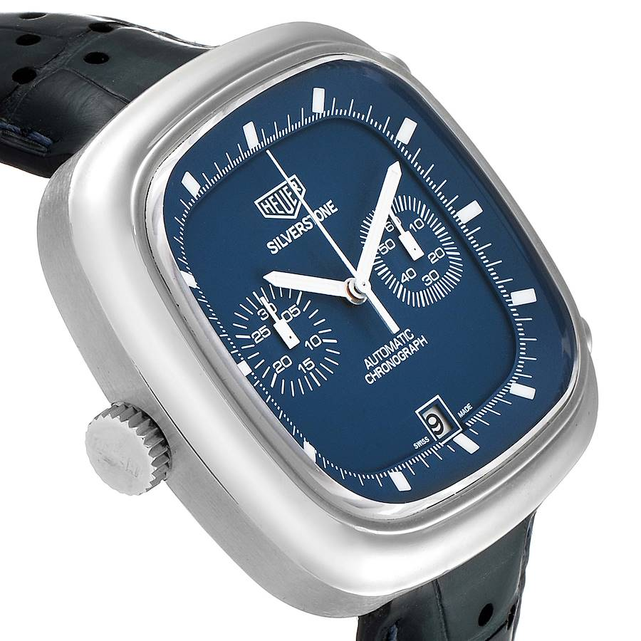 Tag Heuer Silverstone Blue Dial Limited Edition Mens Watch CAM2110 Card SwissWatchExpo