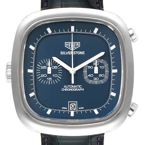 Photo of Tag Heuer Silverstone Blue Dial Limited Edition Mens Watch CAM2110 Card