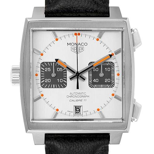Tag Heuer Monaco Limited Production Steel Mens Watch CAW211C