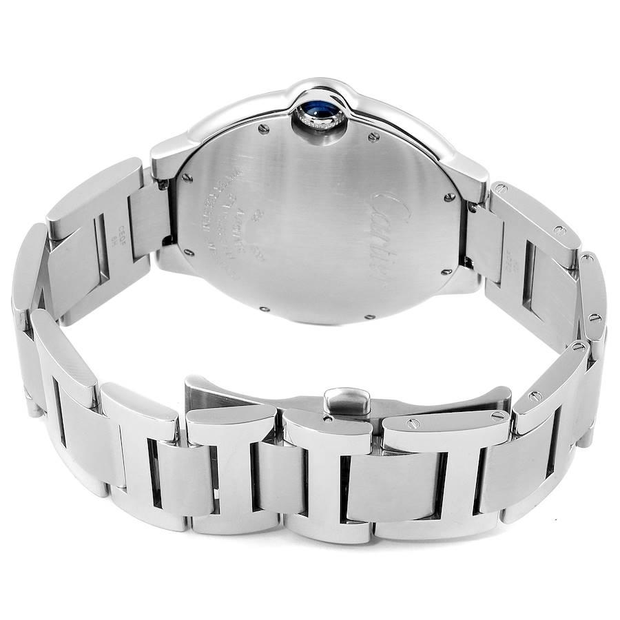 Cartier Ballon Bleu 42 Steel Automatic Mens Watch W69012Z4 SwissWatchExpo