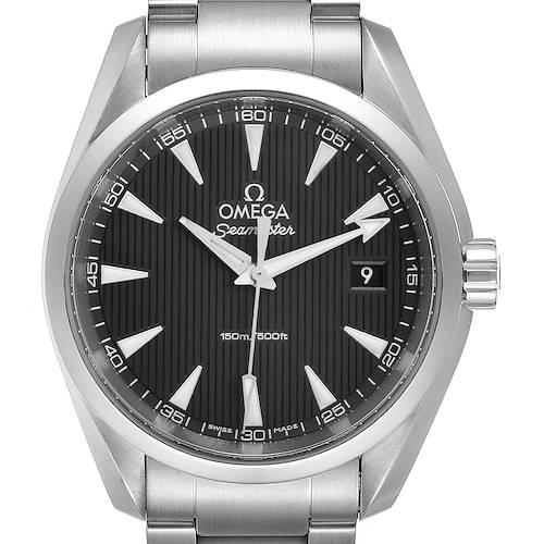 Omega Seamaster Aqua Terra Steel Mens Watch 231.10.39.60.06.001 Box Card