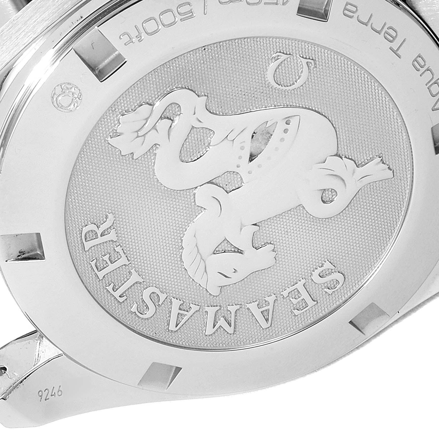 Omega Seamaster Aqua Terra Steel Mens Watch 231.10.39.60.06.001 Box Card SwissWatchExpo