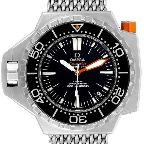 Photo of Omega Seamaster Ploprof 1200m Steel Mens Watch 224.30.55.21.01.001