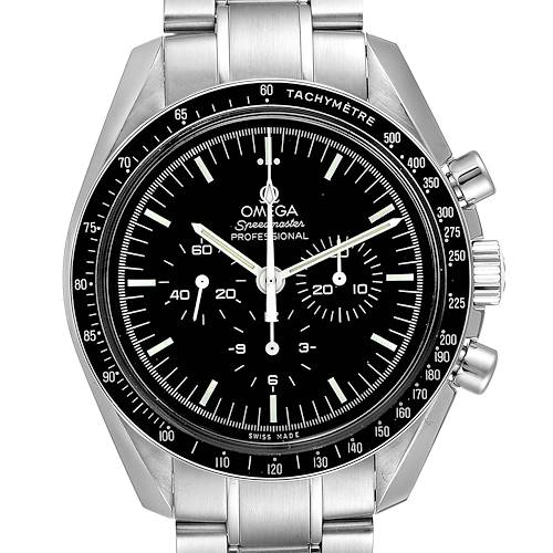 Photo of Omega Speedmaster Moonwatch Steel Watch 311.30.42.30.01.005 Box Card