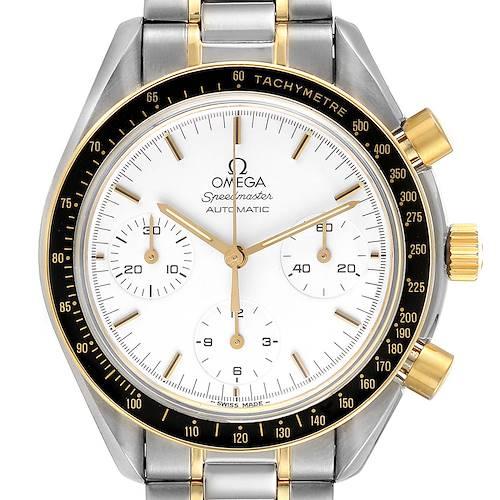 Photo of Omega Speedmaster Steel Yellow Gold Chronograph Mens Watch 3310.20.00