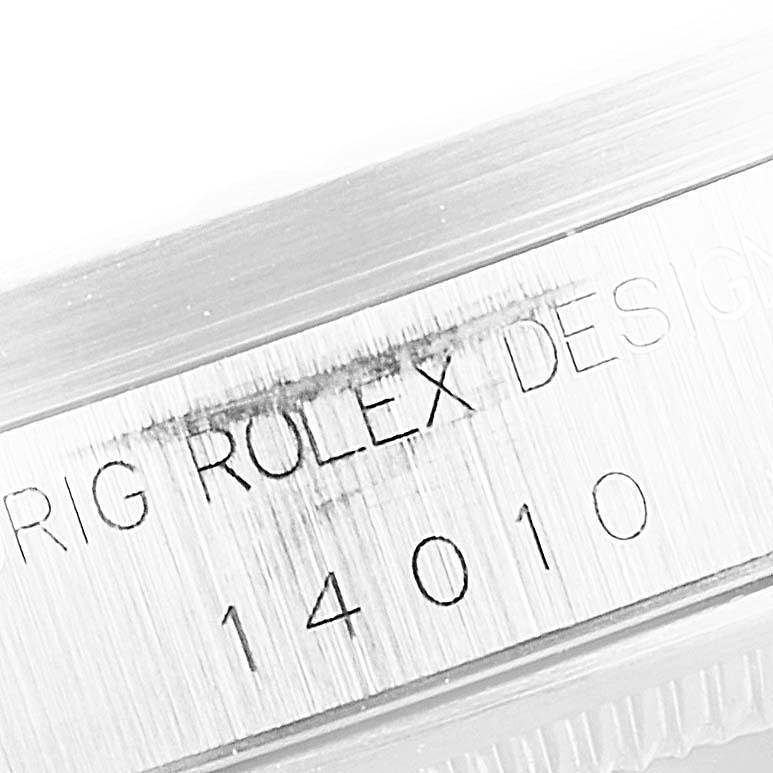 Rolex Air King 34mm White Dial Steel Mens Watch 14010 Box Papers SwissWatchExpo