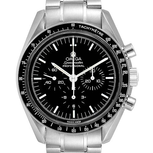 Photo of Omega Speedmaster Chronograph Black Dial Mens MoonWatch 3570.50.00
