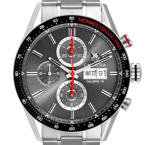 Photo of Tag Heuer Carrera Monaco Grand Prix Chronograph Mens Watch CV2A1M