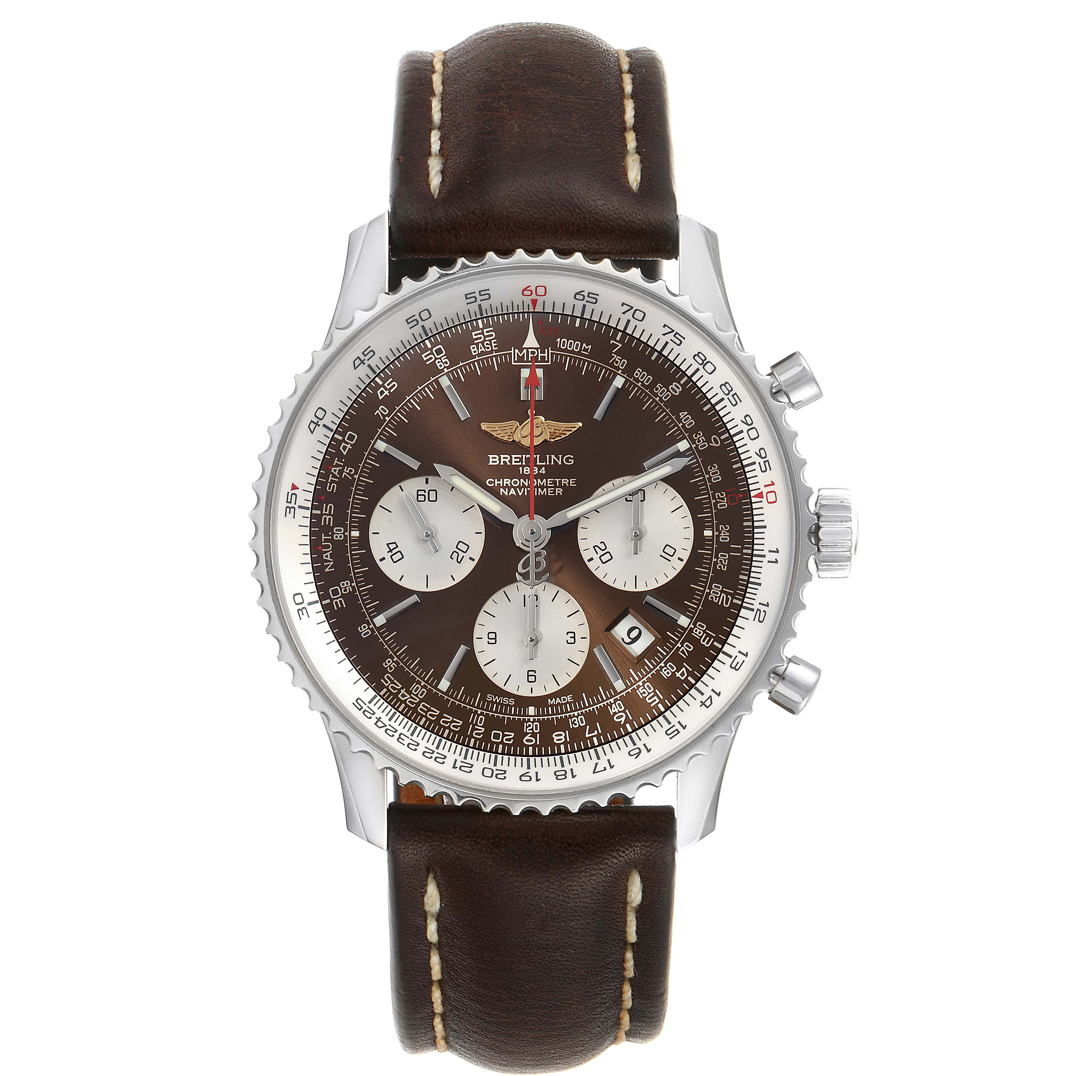 Breitling Navitimer 01 Panamerican Limited Edition Watch AB0121 Box Papers SwissWatchExpo