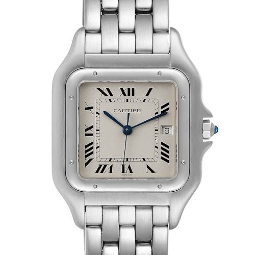 Cartier Panthere Jumbo 29mm Stainless Steel Mens Watch W25032P5