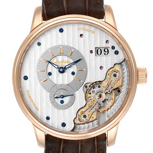 Photo of Glashutte Original PanoMaticInverse Rose Gold Mens Watch 1-91-02-01-05-30
