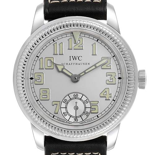 Photo of IWC Pilot Vintage 1936 Platinum Limited Edition Mens Watch IW325405