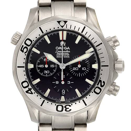 Photo of Omega Seamaster 300M Chronograph Titanium Mens Watch 2293.52.00 Box Papers