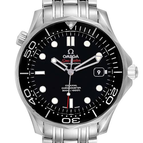 Photo of Omega Seamaster 40 Co-Axial Black Dial Mens Watch 212.30.41.20.01.003 Box