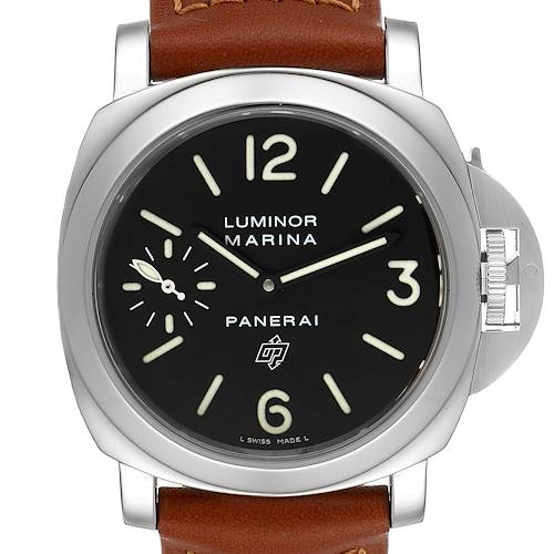 Panerai Luminor Marina Logo 44mm Watch PAM00005 Box Papers