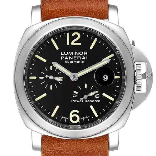 Panerai Luminor Power Reserve Automatic Mens Watch PAM00090 Box Papers