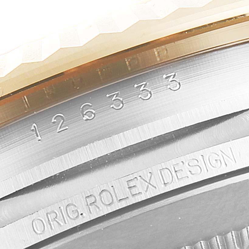 Rolex Datejust 41 Steel Yellow Gold Wimbledon Mens Watch 126333 Box Card SwissWatchExpo