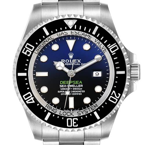 Photo of Rolex Seadweller Deepsea 44 Cameron D-Blue Dial Mens Watch 126660 Box