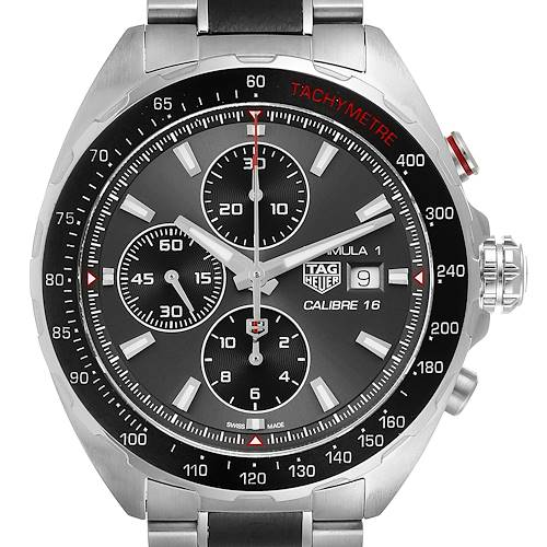 Photo of Tag Heuer Formula 1 Calibre16 Chronograph Steel Mens Watch CAZ2012