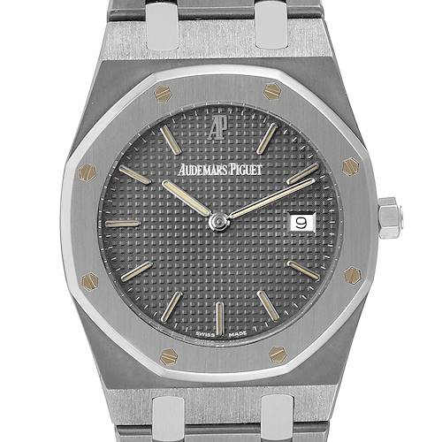 Audemars Piguet Royal Oak Midsize 33mm Tantalum Mens Watch