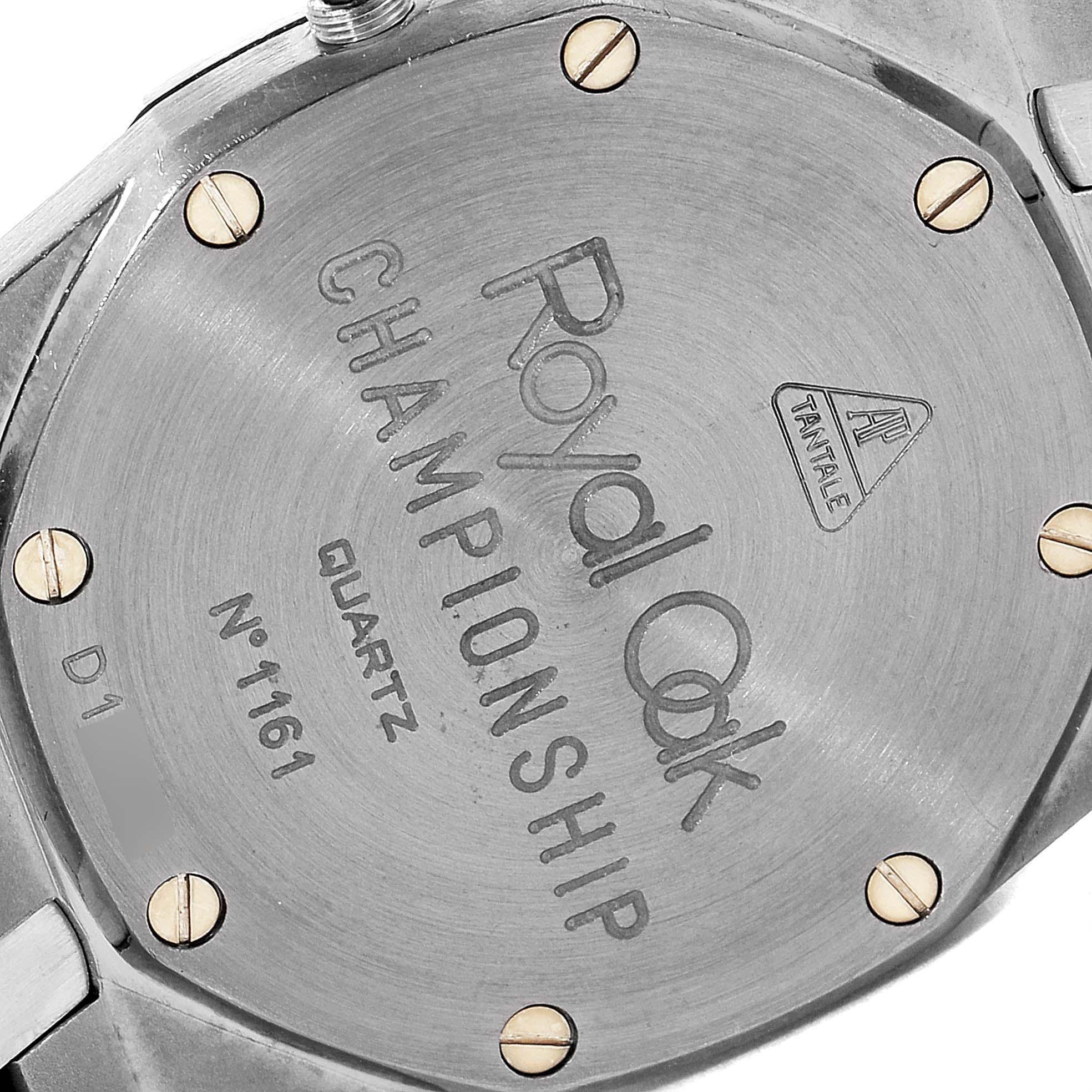 Audemars Piguet Royal Oak Midsize 33mm Tantalum Mens Watch SwissWatchExpo