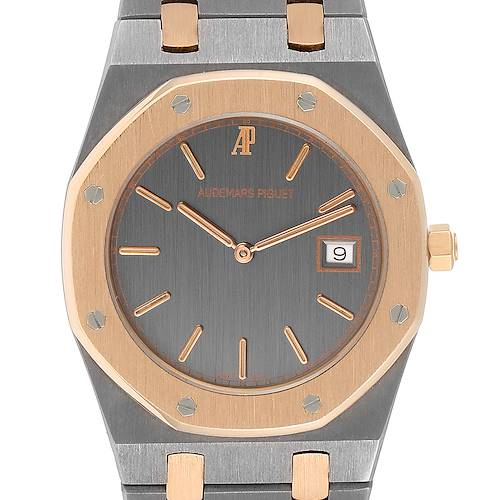 Audemars Piguet Royal Oak Tantalum Rose Gold Midsize Mens Watch 56175