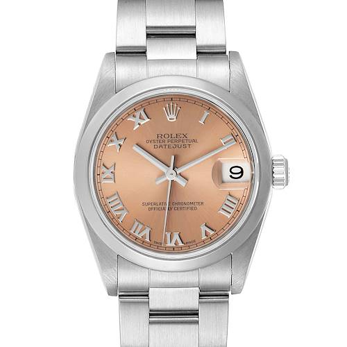 Photo of Rolex Datejust 31 Midsize Salmon Dial Ladies Watch 78240