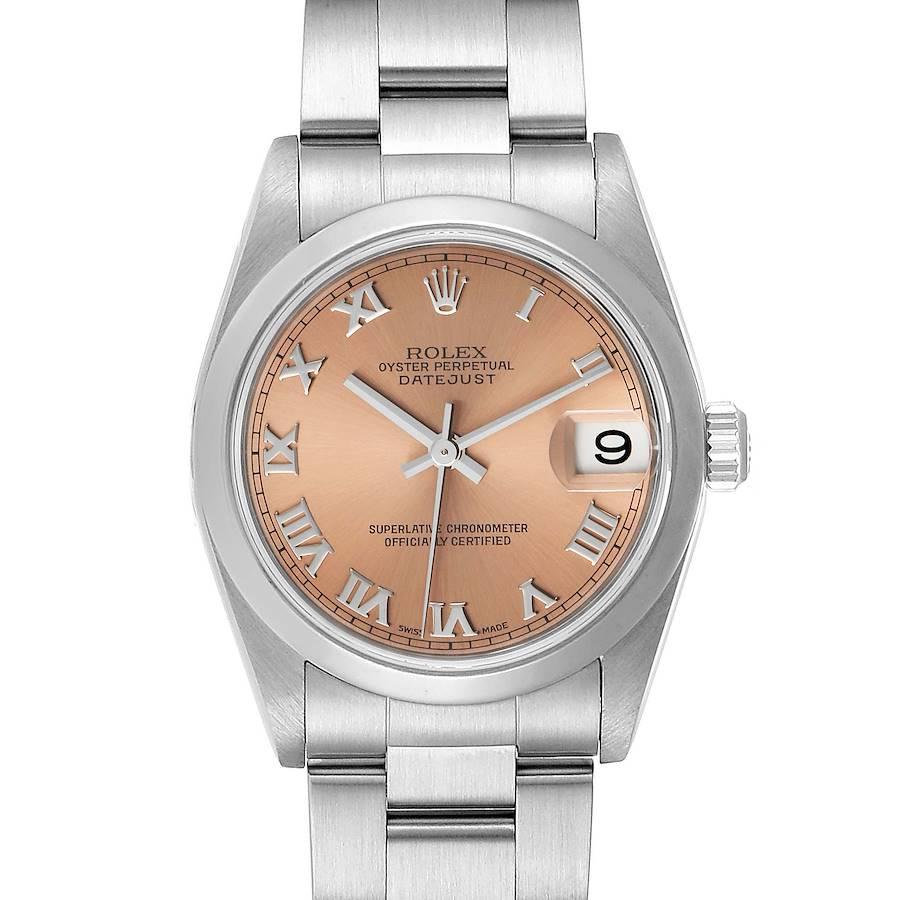Rolex Datejust 31 Midsize Salmon Dial Ladies Watch 78240 SwissWatchExpo