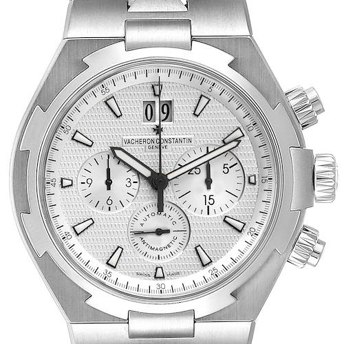 Photo of Vacheron Constantin Overseas Silver Dial Chronograph Mens Watch 49150