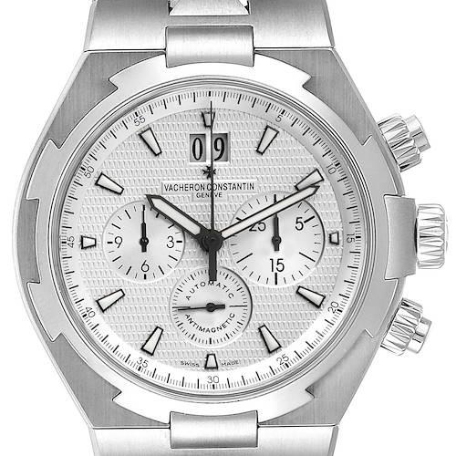 Photo of Vacheron Constantin Overseas Silver Dial Chronograph Mens Watch 49150