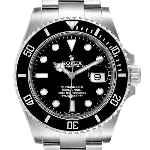Photo of Rolex Submariner Cerachrom Bezel Oystersteel Mens Watch 126610 Unworn