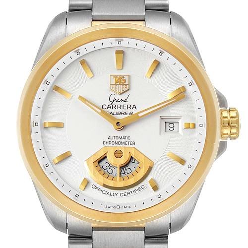Photo of Tag Heuer Grand Carrera 40M Steel Yellow Gold Mens Watch WAV515B