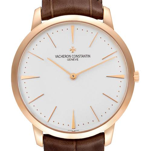 Photo of Vacheron Constantin Patrimony Grand Taille 40mm Rose Gold Watch 81180