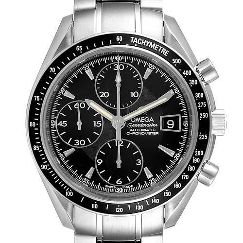 Photo of Omega Speedmaster Chronograph Black Dial Mens Watch 3210.50.00 Card