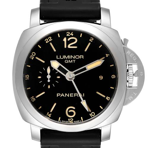 Photo of Panerai Luminor GMT 44mm Steel Mens Watch PAM00531 Box