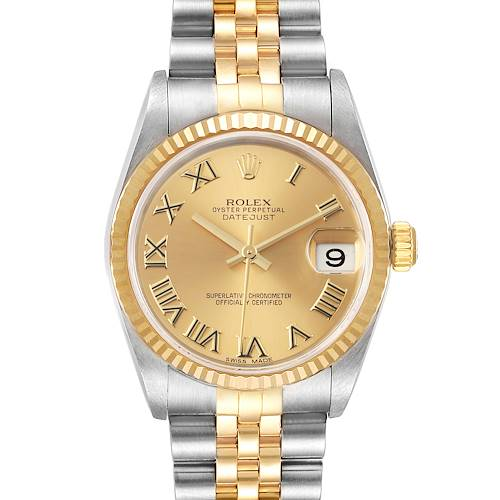 Photo of Rolex Datejust Midsize 31mm Steel Yellow Gold Ladies Watch 78273