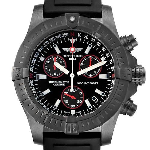 Photo of Breitling Aeromarine Avenger Seawolf Blacksteel Watch M73390 Box Papers
