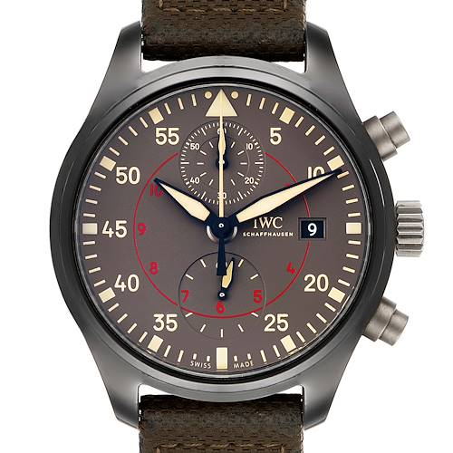 Photo of IWC Pilot Top Gun Miramar Ceramic Mens Watch IW389002 Box Papers