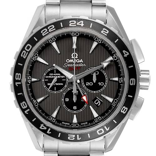 Photo of Omega Seamaster Aqua Terra GMT Watch 231.10.44.52.06.001